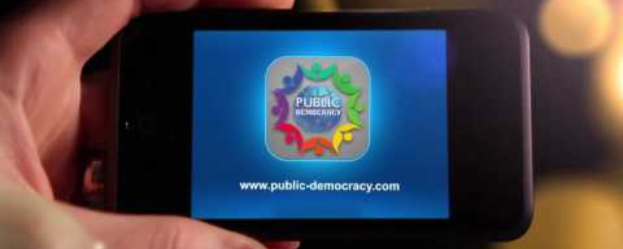Public-Democracy App for Your Phone